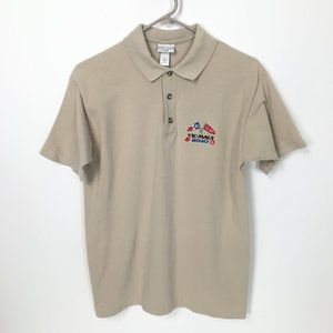 Cotton Deluxe by Anvil Beige Polo Vic Maui 2010 M